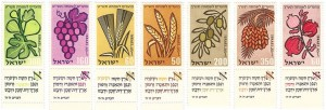 IsraeliStamps 7 Species