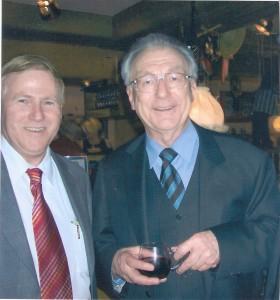 Ari Lipinski mit MP a.D. Dr. Lothar Spaeth in Stuttgart 2006